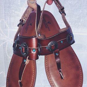 Boho American Eagle Sandals
